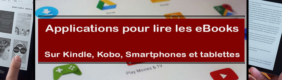 Applications pour Lire les eBooks
